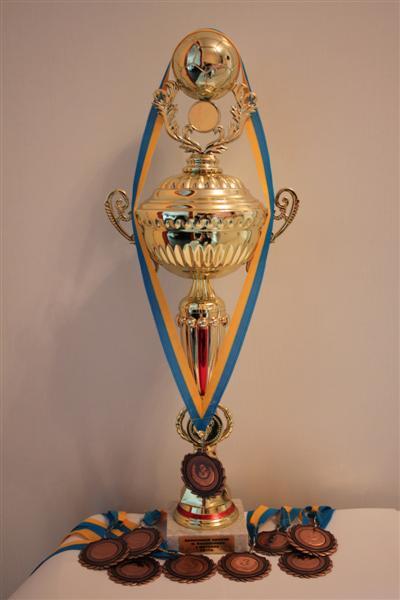 Бронзовый призёр чемпионата Василькова по футзалу 2012 г.